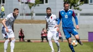 Исландия подчини Албания (видео)