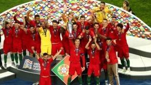 Португалия написа история и стана първият шампион в Лигата на нациите (видео + галерия)