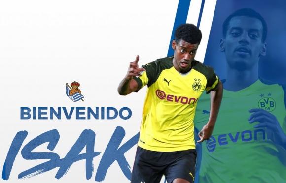 Официално: Реал Сосиедад взе нападател на Борусия (Д)