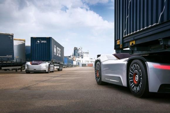 Vera - автономният автомобил на Volvo Trucks, с първа работна задача в Швеция