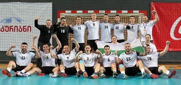 Националният отбор по хандбал с бронз от турнира в Тбилиси