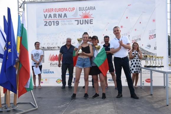 Български победи в Европейската купа по ветроходство