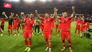 Турският отбор и фенове сътвориха скандал в Исландия