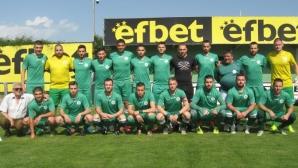 От Перун (Кресна) се заканиха да са хитът на сезона в Югозападната трета лига