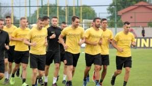 14 души изгледаха първата тренировка на Ботев (Пд)