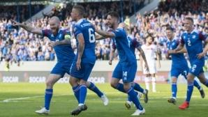 """Исландия нанесе първа загуба на Турция и завърза битката в група """"Н"""""""