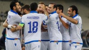 Армения шокира Гърция в Атина