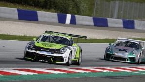 Георги Дончев продължава битката в Porsche Carrera Cup