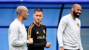 Роберто Мартинес: Азар ще промени бъдещето на испанския футбол