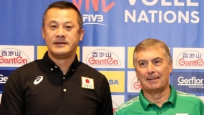 Треньорът на Япония: Надявам се да вземем поне гейм на България