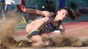 Габриела Петрова и Александра Начева със силни изяви в скока на дължина, победа за Румъния