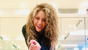 Шакира измисли розов бански на ресни