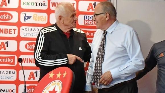 Люпко Петрович е много доволен от селекцията в ЦСКА-София