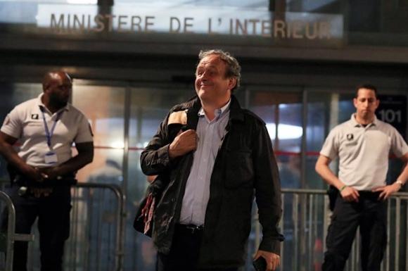 Мишел Платини вече е на свобода