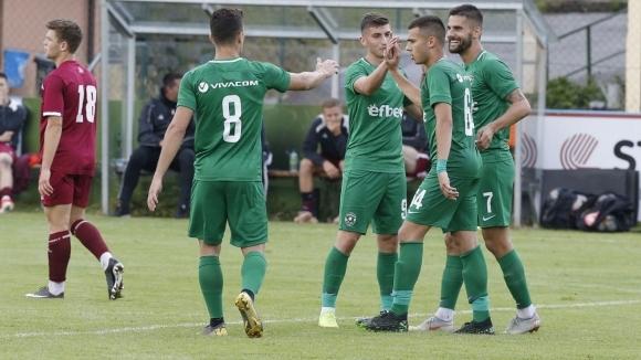Лудогорец излиза срещу Карабах и Симеон Славчев във втората си проверка