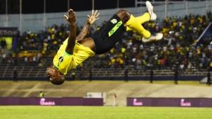 """Ямайка и Салвадор стартираха с победи на """"Голд къп"""" (видео)"""