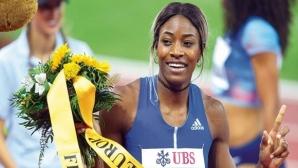 Милър-Уибо отново със силен резултат на 150 метра