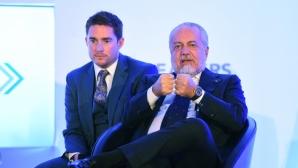 Шефът на Наполи потвърди за Хамес и начерта трансферната си политика