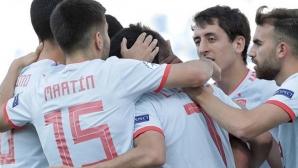 Испания изстрада първата си победа на Евро 2019 до 21 години