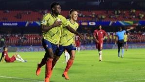 Късен гол прати Колумбия на четвъртфиналите (видео)