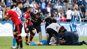 Борбата за Ла Лига: ужасяващо влизане с бутони в лицето завърши със 70 шева
