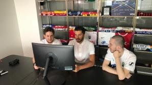 Български геймър се срещна с бивш играч на Реал Мадрид