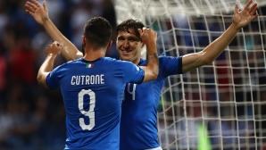 Италия си свърши работата, но вече съдбата й е в чужди ръце (видео)