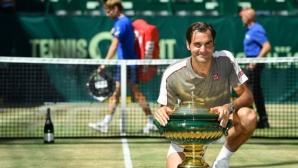 """Федерер: Винаги когато печеля в Хале, играя добре на """"Уимбълдън"""""""