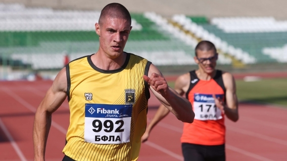 Светлин Иванов №1 в България на 100 и 200 метра за 2019 г.