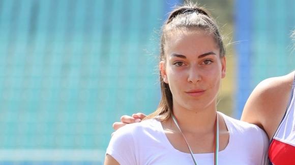 Венелина Петкова подобри националния рекорд на копие при девойките под 18 години