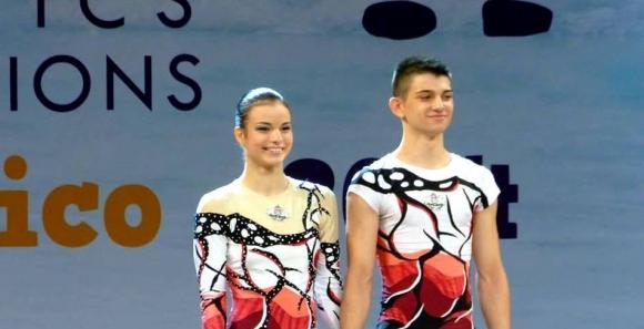 Българската смесена двойка остана в подножието на медалите