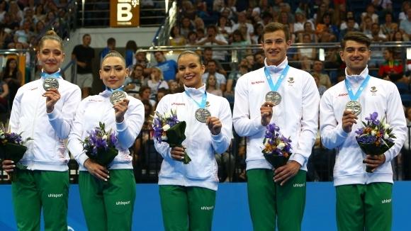 Сребърен медал за българската група в аеробиката на Европейските игри в...