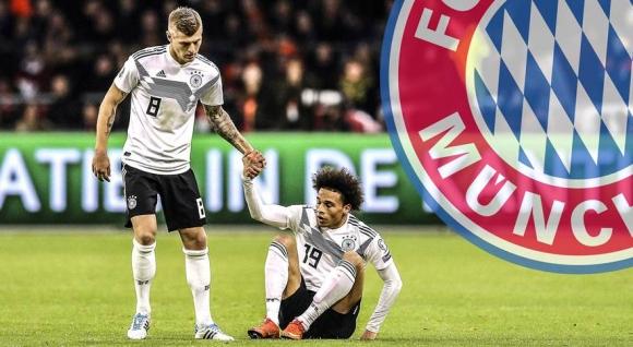 Тони Кроос: Не мисля, че Сане ще се озове в Мюнхен