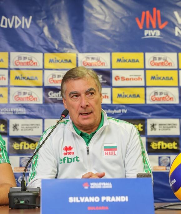 Силвано Пранди: Искам да направим добра сплав между младите и опитните играчи