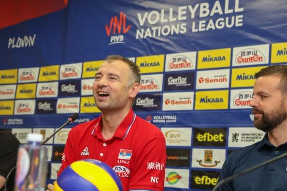 Никола Гърбич: България винаги дава страхотни спомени за нашия отбор