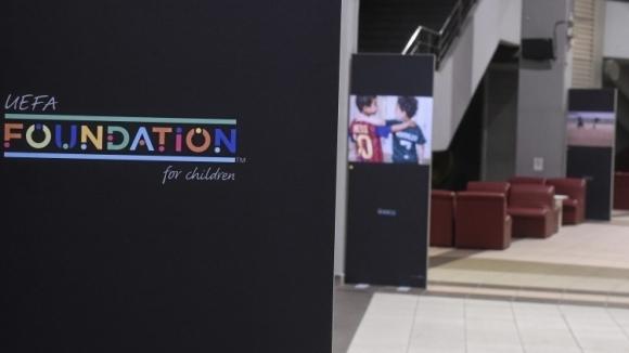 Български клуб спечели награда от УЕФА Фондацията за деца