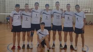 """СУ """"Цар Симеон Велики"""" стана държавен шампион по волейбол, спечели квота за световно"""