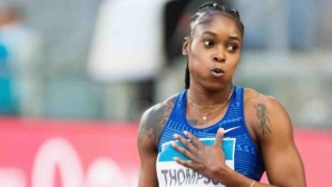 Илейн Томпсън №1 в света за сезона и на 200 метра