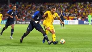 Франция и Румъния си стиснаха ръцете за 0:0 и са на полуфинал