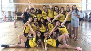 Марица U13 завърши по шампионски без загубен гейм