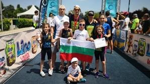 """Триатлонистите на """"Три Екстрийм"""" се върнаха с титла и 3 медала от силен международен турнир в Скопие"""
