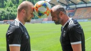 Треньорът на Ружомберок: Бях почитател на българския футбол, шансът ни с Левски е 50/50