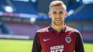 Ференцварош се подсили за Лудогорец с играч от Спарта (Прага)