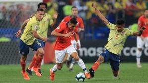 Чили на полуфинал за Копа Америка след дузпи и два отменени гола (галерия)