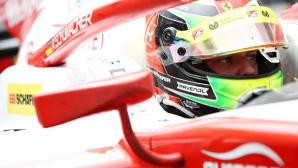 """Мик Шумахер изпусна на косъм подиума на """"Ред Бул Ринг"""""""