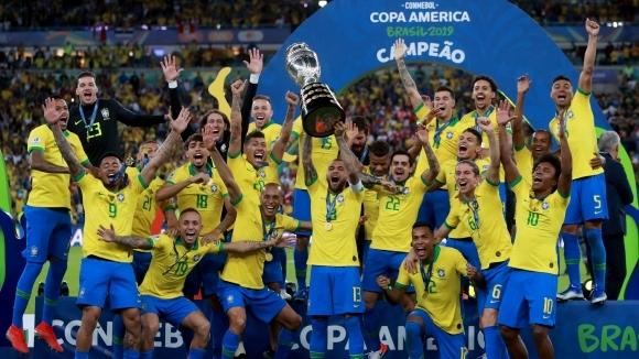Бразилия не допусна изненада и за пети път триумфира в Копа Америка на своя земя (видео+галерия)