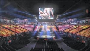 Ето как изглежда залата в Абу Даби, която построиха специално за UFC 242