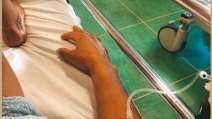 Секссимволът на биатлона влезе в болница