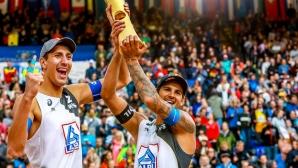Руснаци станаха световни шампиони по плажен волейбол (снимки)