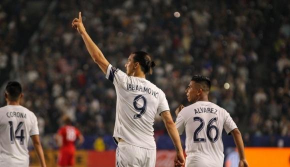Златан Ибрахимович стана играч на сезона в MLS